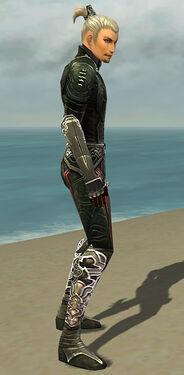 Assassin Deldrimor Armor M gray side