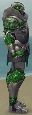 Warrior Platemail Armor M dyed side alternate
