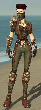 Ranger Krytan Armor F gray front
