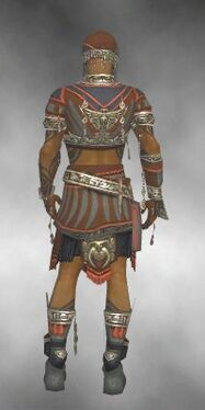 Ritualist Asuran Armor M gray back