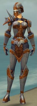 Warrior Platemail Armor F dyed front