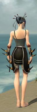 Necromancer Ancient Armor F gray arms legs back