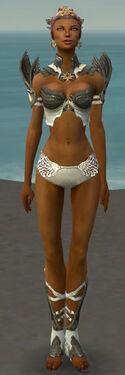 Paragon Elite Sunspear Armor F gray chest feet front