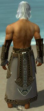 Dervish Asuran Armor M gray arms legs back
