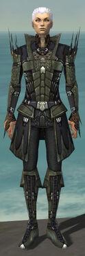 Necromancer Cabal Armor M gray front