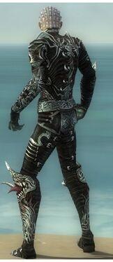 Necromancer Canthan Armor M gray back