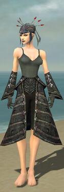 Necromancer Elite Cultist Armor F gray arms legs front