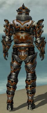 Warrior Obsidian Armor M dyed back