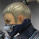 Assassin Asuran Armor M dyed head side