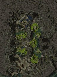 Isle of Weeping Stone map