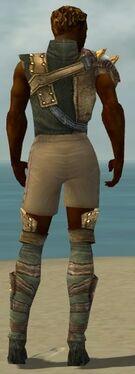 Ranger Tyrian Armor M gray chest feet back