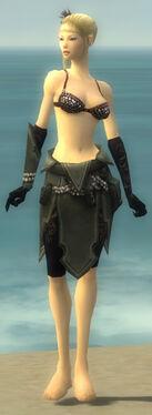 Ritualist Kurzick Armor F gray arms legs front