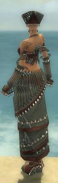 Ritualist Vabbian Armor F gray back