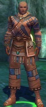 Monk Luxon Armor M gray front