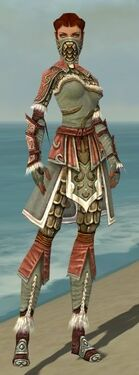 Ranger Elite Canthan Armor F gray front