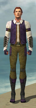 Mesmer Ascalon Armor M dyed front
