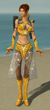 Elementalist Elite Stormforged Armor F dyed front