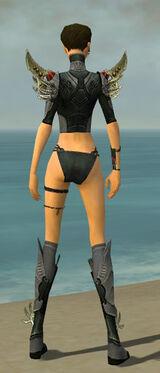 Assassin Elite Imperial Armor F gray chest feet back