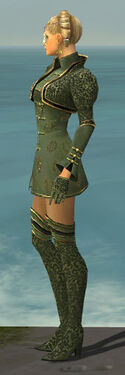 Mesmer Canthan Armor F gray side