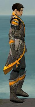 Elementalist Flameforged Armor M dyed side