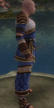 Monk Elite Canthan Armor M dyed side alternate