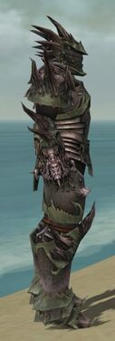 Warrior Primeval Armor M gray side