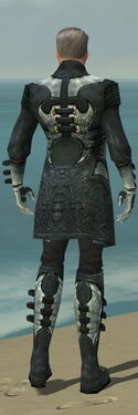 Mesmer Elite Kurzick Armor M dyed back