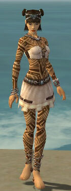 Monk Labyrinthine Armor F dyed front