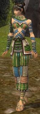 Monk Luxon Armor F dyed front
