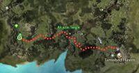 Pywatt the Swift Location Map