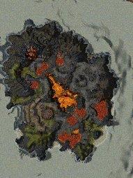 Burning Isle map