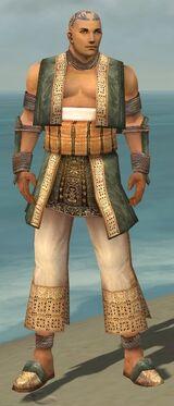 Monk Vabbian Armor M gray front