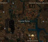 Xaquang Skyway map