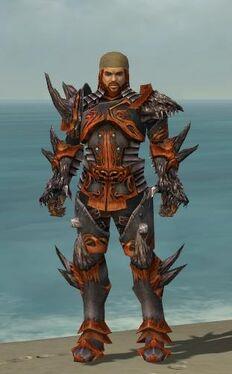 Warrior Primeval Armor M nohelmet