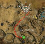 Dusty Urn's map