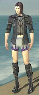Elementalist Ascalon Armor M gray chest feet front