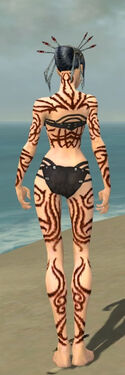 Necromancer Scar Pattern Armor F dyed back