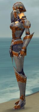 Warrior Platemail Armor F dyed side