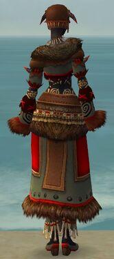 Ritualist Norn Armor F gray back