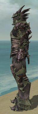 Warrior Primeval Armor M gray side alternate
