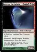 Entropy the Admin Magic Card