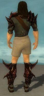 Ranger Primeval Armor M gray chest feet back