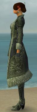 Mesmer Kurzick Armor F gray side