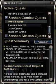 Fourth zaishen quest
