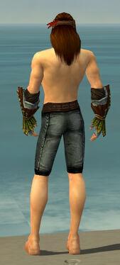Ranger Druid Armor M gray arms legs back