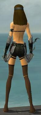 Assassin Elite Luxon Armor F gray arms legs back