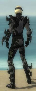 Assassin Kurzick Armor M gray back