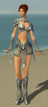 Elementalist Asuran Armor F gray front