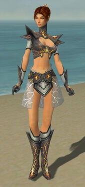 Elementalist Stormforged Armor F dyed front