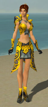 Elementalist Monument Armor F dyed front
